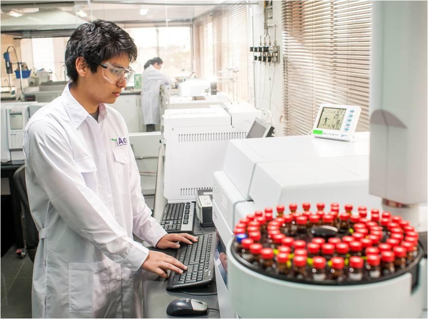 Laboratorio de AGQ Labs Ecuador
